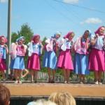 Выступление танцевальной группы